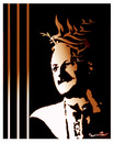 Cartoon: NAZIM HIKMET (small) by ismail dogan tagged famous,poet