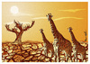 Cartoon: Savannah Africa !.. (small) by ismail dogan tagged africa