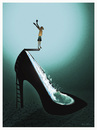 Cartoon: SHOE !.. (small) by ismail dogan tagged shoe