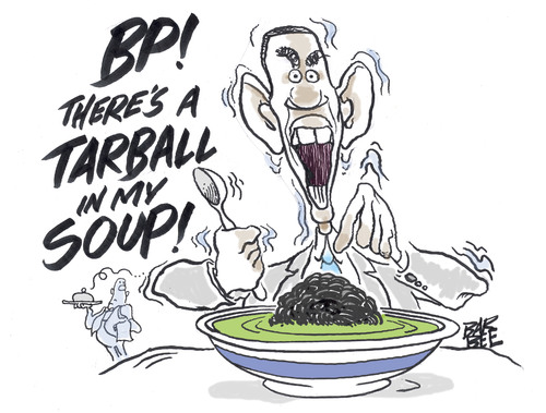 Cartoon: soup de jour (medium) by barbeefish tagged bon,appetite