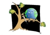 Cartoon: EARTH DAY 2010 (small) by uber tagged earth pollution kyoto