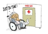 Cartoon: HEALTH CARE (small) by uber tagged obama,health,care,usa