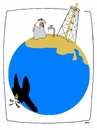Cartoon: THE BARREL (small) by uber tagged oil luisiana opec