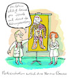 Cartoon: Numerus Clausus (small) by habild tagged nc,studium,zulassung,medizin,noten,studiumsplatz,eignung