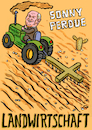 Cartoon: Sonny Perdue Landwirtschaft (small) by habild tagged kabinett,trump,agriculture,minister