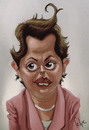 Cartoon: President Dilma (small) by Felipe Moreira tagged digital,paint,caricature