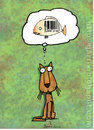 Cartoon: Darn crisis (small) by Garrincha tagged gag,cartoon,garrincha,cats,crisis