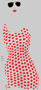Cartoon: Dots (small) by Garrincha tagged ladies,women,dress