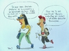 Cartoon: adolecentes (small) by Becs tagged becs
