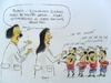 Cartoon: futboleros (small) by Becs tagged becs