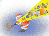 Cartoon: childrens_wishes_come_true (small) by zluetic tagged childrens,santa,claus