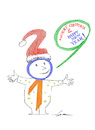Cartoon: merry christmas (small) by zluetic tagged christmas