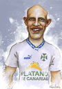 Cartoon: DERTYCIA (small) by lagrancosaverde tagged dertycia,tenerife,caricaturas,caricatura,caricature,futbol
