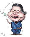 Cartoon: Jayalalitha (small) by awantha tagged jayalalitha
