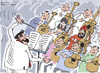 Cartoon: Symphony Orchestra (small) by awantha tagged symphony,orchestra