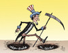 Cartoon: Uncle Sam (small) by awantha tagged uncle,sam