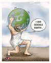 Cartoon: ATLAS (small) by saadet demir yalcin tagged saadet sdy atlas earth