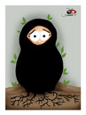 Cartoon: free woman-5 (small) by saadet demir yalcin tagged freewoman,syalcin