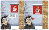 Cartoon: Mistake (small) by saadet demir yalcin tagged saadet sdy mistake coffee