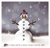 Cartoon: nuclear snow... (small) by saadet demir yalcin tagged saadet,syalcin,sdy,nuclear,world,snowman