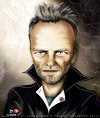 Cartoon: Sting (small) by saadet demir yalcin tagged saadet,sdy,sting,portrait