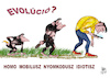 Cartoon: EVOLUTION 2 (small) by T-BOY tagged evolution