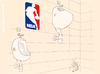 Cartoon: NBA (small) by T-BOY tagged nba