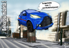 Cartoon: Parking problems in the city (small) by T-BOY tagged parking,problems,in,the,city,center