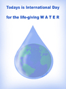 Cartoon: WATER DAY (small) by T-BOY tagged water,day