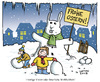 Cartoon: Ostergruß 2013 (small) by Nottel tagged ostern,wetter,winter,frühling