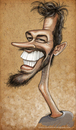 Cartoon: Girshel (small) by K E M O tagged girsheli,by,kemo,order,from,usa,jazz,caricature,music,pianist