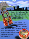 Cartoon: tracht (small) by wheelman tagged bayern,tracht,hose,oktoberfest,leber,wurst
