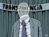 Cartoon: Transparencia (small) by Santos tagged transparente
