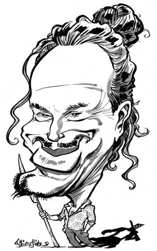 Cartoon: Mickey Rourke (medium) by stieglitz tagged stieglitz,daniel,by,karikatur,caricatura,caricature,rourke,mickey