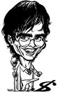 Cartoon: Daniel Radcliffe (small) by stieglitz tagged daniel,radcliffe,harry,potter,karikatur,caricature