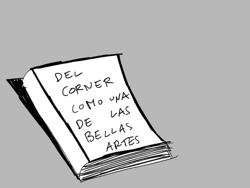 Cartoon: The book (medium) by elrubio tagged politics