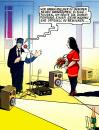 Cartoon: Rede (small) by Pohlenz tagged ehe,hochzeit,wedding,marriage