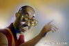 Cartoon: Dalailama (small) by zaliko tagged dalailama