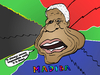 Cartoon: Nelson Mandela caricature (small) by BinaryOptions tagged optionsclick,binary,option,options,nelson,mandela,madiba,caricature,portrait,comic,webcomic,south,africa,newsmaker,leader,editorial,news,info,politician,politics