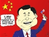 Cartoon: Xi Jinping en comique economique (small) by BinaryOptions tagged xi,jinping,chinois,barack,obama,election,president,americain,caricature,editoriale,dessin,anime,comique,entreprise,optionsclick,trader,options,binaires,negociation,option,nouvelles,news,infos,actualites,nationales,commerce,satire