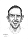 Cartoon: Frank Ribery (small) by gamez tagged fc bayern bundesligamez france