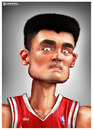 Cartoon: Yao (small) by gamez tagged yao