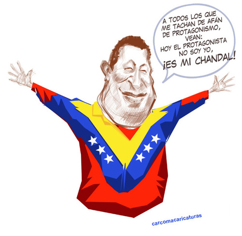 Cartoon Hugo Cartoon Hugo Chavez to