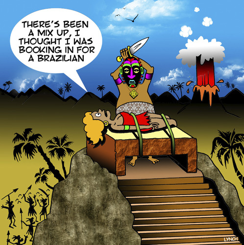 Cartoon: Brazilian (medium) by toons tagged human,sacrafice,brazilian,incas,aztecs,indian,tribes,south,america,human,sacrafice,brazilian,incas,aztecs,indian,tribes,south,america