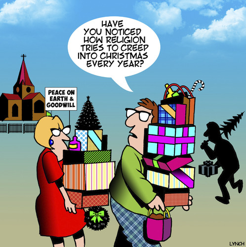 Cartoon: Christmas (medium) by toons tagged christmas,xmas,consumerism,presents,bying,spree,christmas,xmas,consumerism,presents,bying,spree