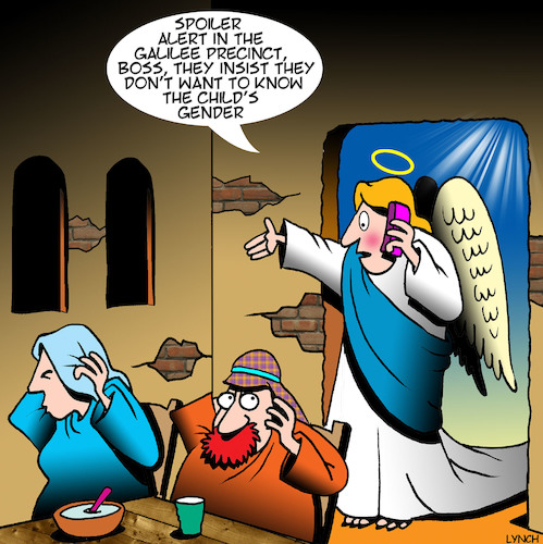 Cartoon: Mary and Joseph (medium) by toons tagged immaculate,conception,archangel,gabriel,christmas,mary,and,joseph,babies,gender,birth,of,jesus,spoiler,alert,immaculate,conception,archangel,gabriel,christmas,mary,and,joseph,babies,gender,birth,of,jesus,spoiler,alert
