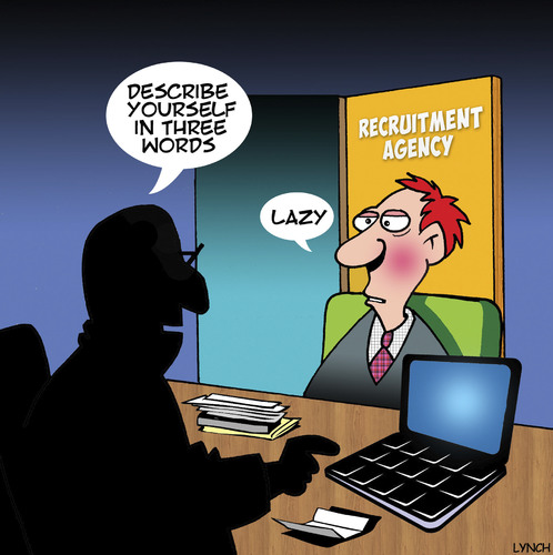 Cartoon: Recruitment (medium) by toons tagged lazy,recruitment,now,hiring,employment,agency,lazy,recruitment,now,hiring,employment,agency