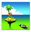 Cartoon: 101 desert island jokes (small) by toons tagged desert,island,cartoons,jokes,funnies,palm,trees,marooned,stranded,seaside,oceans