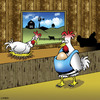 Cartoon: baby Bjorn (small) by toons tagged motherhood,babies,chickens,eggs,farming,farms,baby,bjorn,prams,pre,natal,pregnant,chicks,seat