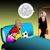 Cartoon: Brazilian (small) by toons tagged brazilian,wax,breazilian,soccer,player,infidelity